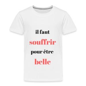 choix de vie - T-shirt Premium Enfant