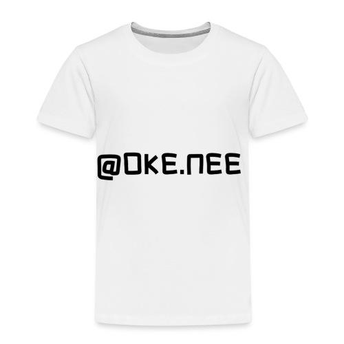 OKE_NEE-png - Kinderen Premium T-shirt
