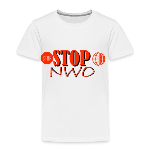 STOPNWO1 - Koszulka dziecięca Premium