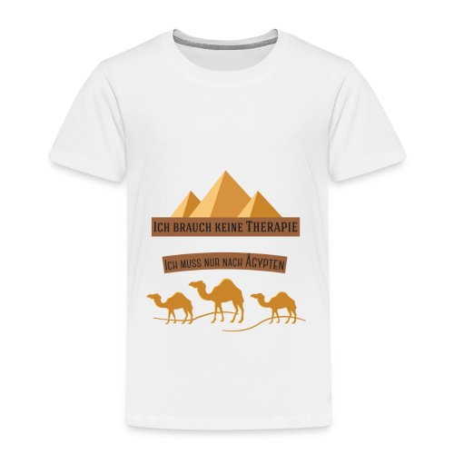 egypt Therapie - Kinder Premium T-Shirt