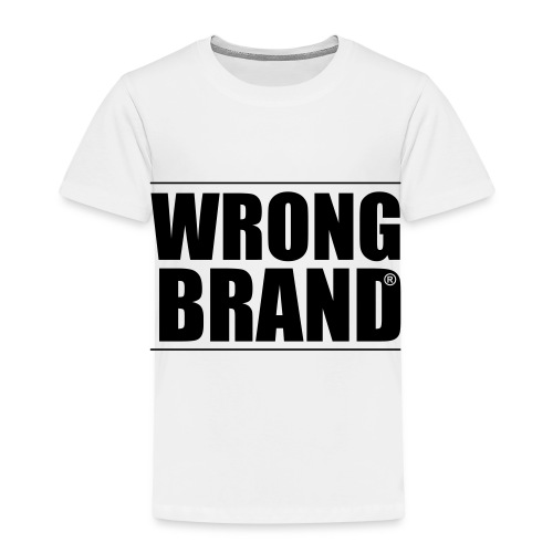 Wrong Brand: the ultimate brand parody - Kids' Premium T-Shirt