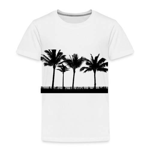 Palm trees - Premium-T-shirt barn