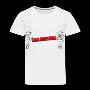Tom Ageddon Animated - Kids' Premium T-Shirt