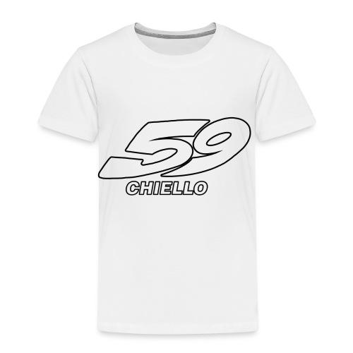 CHIELLO - Maglietta Premium per bambini
