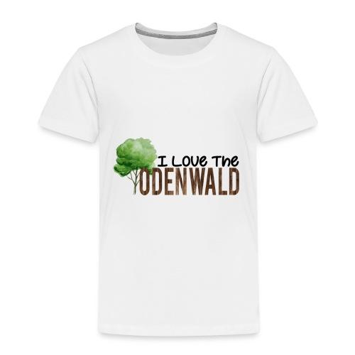 I Love The Odenwald - Kinder Premium T-Shirt