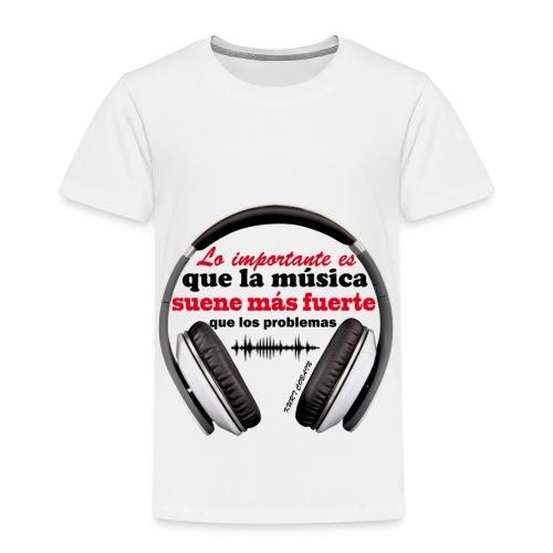 LO IMPORTANTE - Camiseta premium niño
