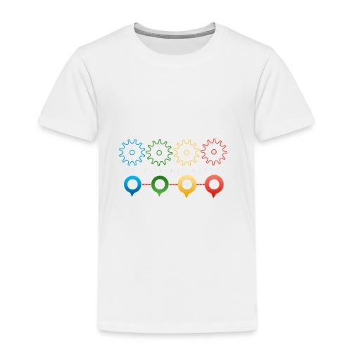 Make things happen - Bundes Artwork mit Zahnräder - Kinder Premium T-Shirt