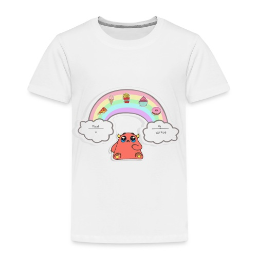*Premium* FOOD IS MY BEST FRIEND *Premium* - Kinder Premium T-Shirt