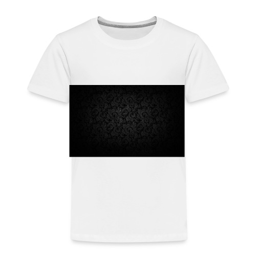 black background pattern light texture 55291 3840x - Kids' Premium T-Shirt