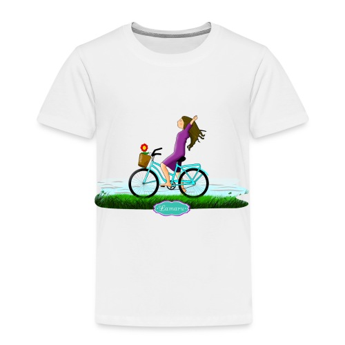 BICICLETA - Camiseta premium niño