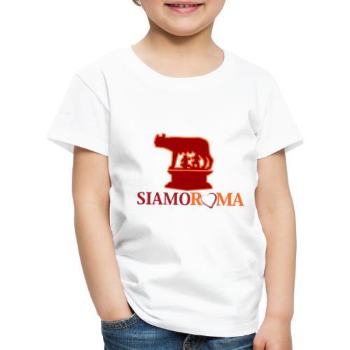 siamo roma 2 - Maglietta Premium per bambini