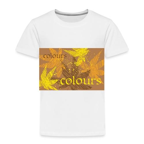 autumn theme - Koszulka dziecięca Premium