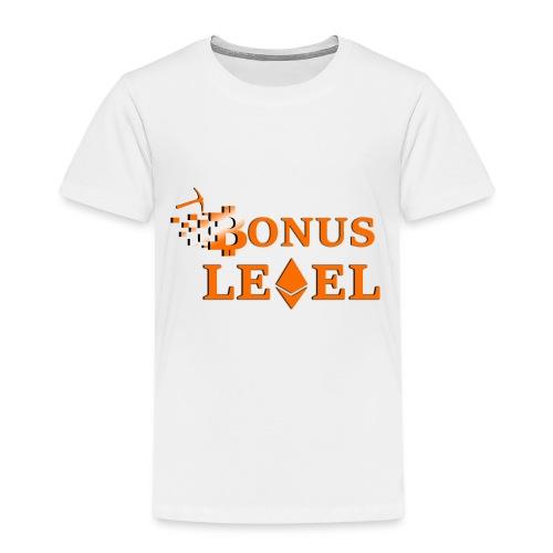 Bonus Level Logo - Kinder Premium T-Shirt