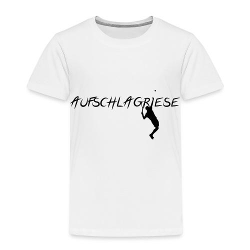 AUFSCHLAGRIESE - Kinder Premium T-Shirt