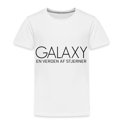 En verden af stjerner - Børne premium T-shirt