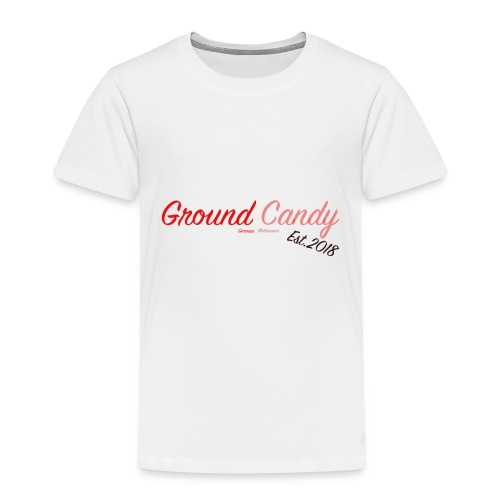 Ground Candy Logo - Kinder Premium T-Shirt