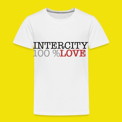 100 love - Børne premium T-shirt