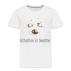Schaflos in Seattle - Sheep Storys - Kinder Premium T-Shirt