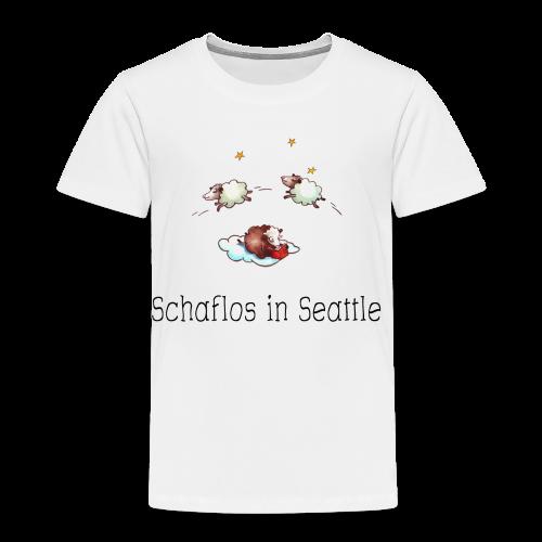 Schaflos in Seattle - Sheep Storys - Kinder Premium T-Shirt