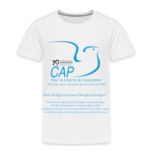 logoCAPLCart18eng - T-shirt Premium Enfant