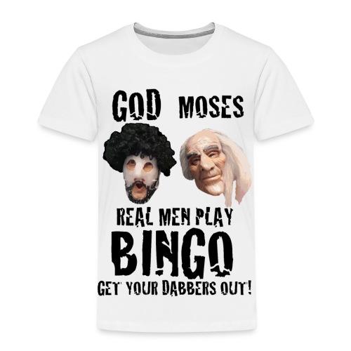 Real Men play Bingo - Kids' Premium T-Shirt