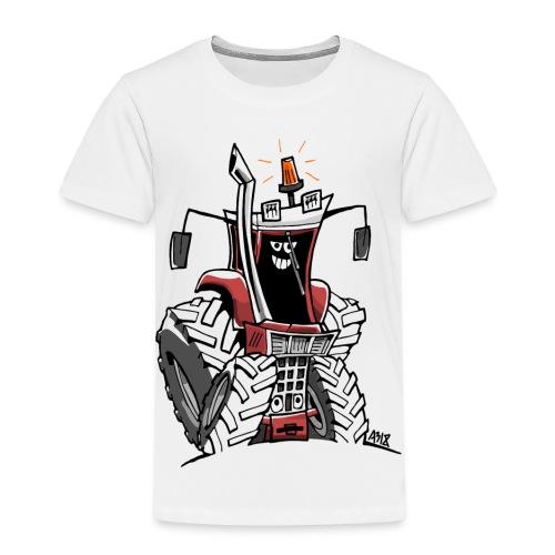 case 856XL kleur zonder wielen - Kinderen Premium T-shirt