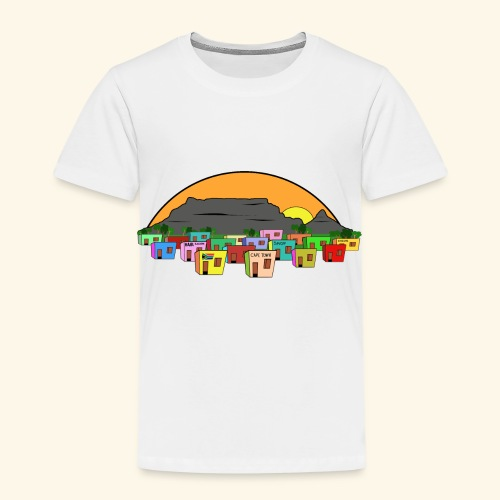 Cape Town Township Background - Kinder Premium T-Shirt