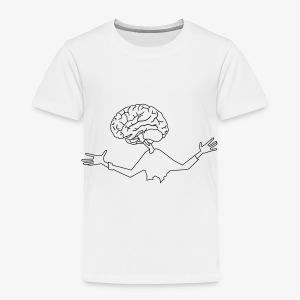 mózg - Koszulka dziecięca Premium
