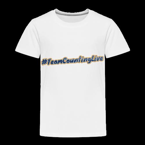 #TeamCountingLive - Kinderen Premium T-shirt