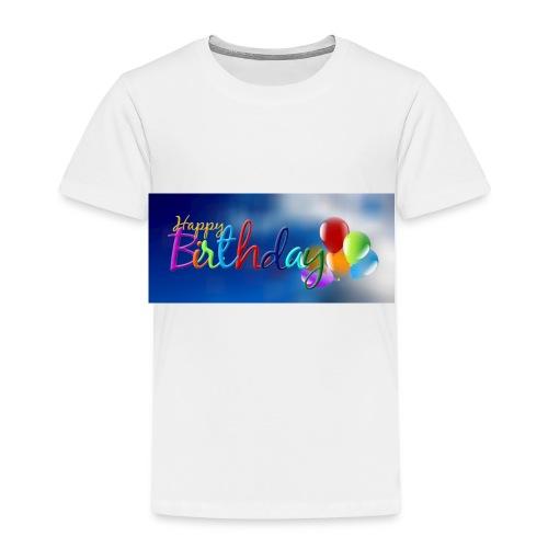 birthday 1713778 960 720 - Kinder Premium T-Shirt