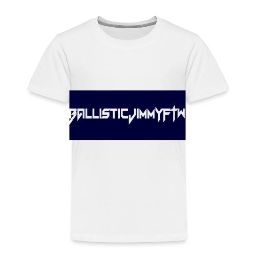 BallisticJimmyFTW Labelled Rectange White - Kids' Premium T-Shirt