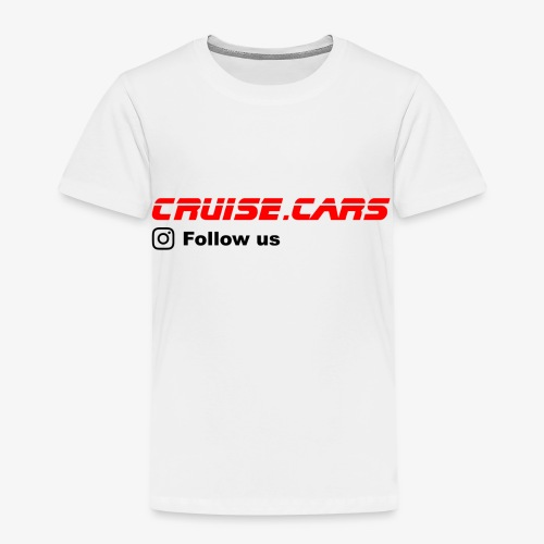 Cruise.CarsSlogan - Kinder Premium T-Shirt