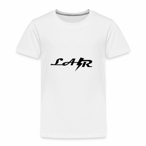 LaZr Lightning Bolt Text Logo - Kids' Premium T-Shirt
