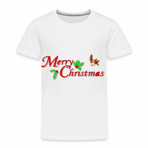 -Merry Christmas- - Kinder Premium T-Shirt
