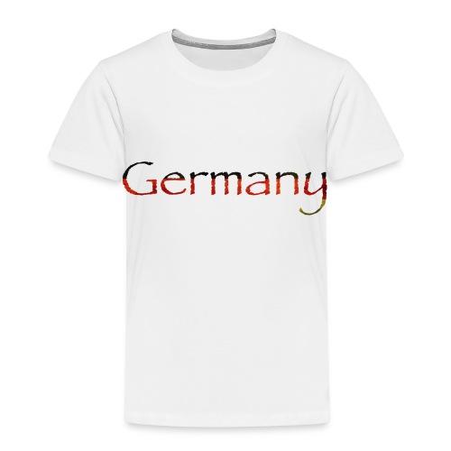 Deutschland Schriftzug Horizontal - Kinder Premium T-Shirt