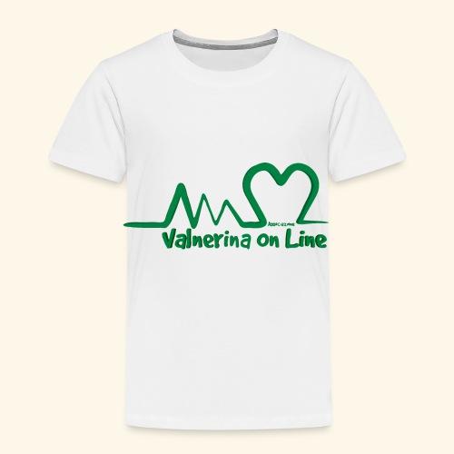 logo verde Associazione Valnerina On line - Maglietta Premium per bambini