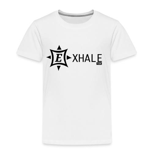 Exhale 10K White - Kids' Premium T-Shirt