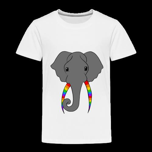 Pride Elephant - Kids' Premium T-Shirt