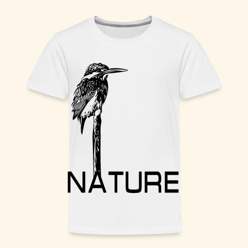 Eisvogel Natur Nature - Kinder Premium T-Shirt