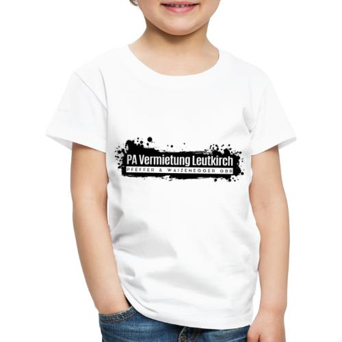 PA Vermietung Leutkirch Logo mit Klex - Kinder Premium T-Shirt