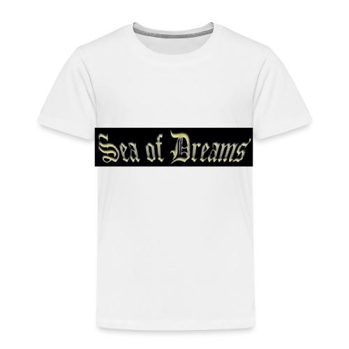 SEA OF DREAMS BLACK BACKGROUND - Premium T-skjorte for barn