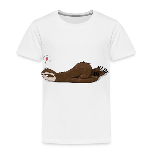 FaultierTraeumend - Kinder Premium T-Shirt
