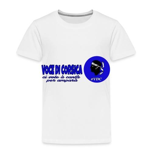 Voce di Corsica logo 1 - T-shirt Premium Enfant