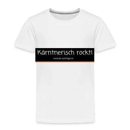 Kärntnerisch rockt - Kinder Premium T-Shirt