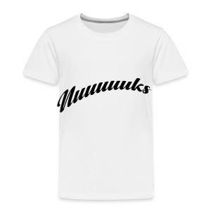 nuuuuks logo - Kinderen Premium T-shirt