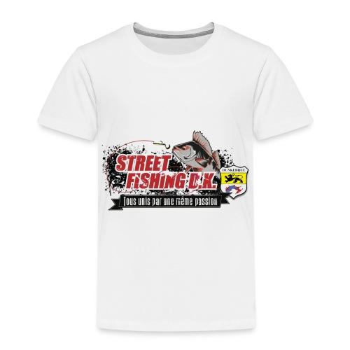 StreetFishingDK.png - T-shirt Premium Enfant