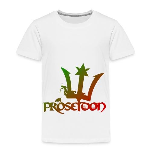 Proseidon Official Logo Rasta - Kinder Premium T-Shirt