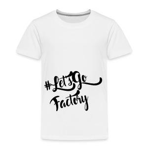 #Let'sGoFactory - T-shirt Premium Enfant