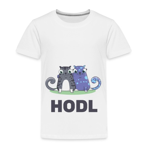 Kitty HODL - Kids' Premium T-Shirt