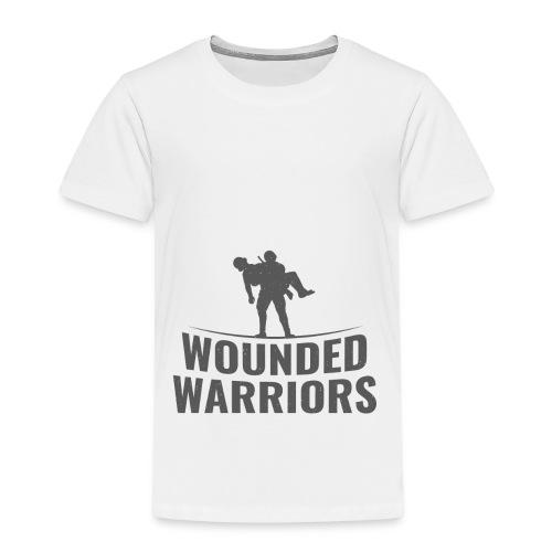 Wounded Warrior Design - Kinder Premium T-Shirt